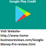Google Play Credit